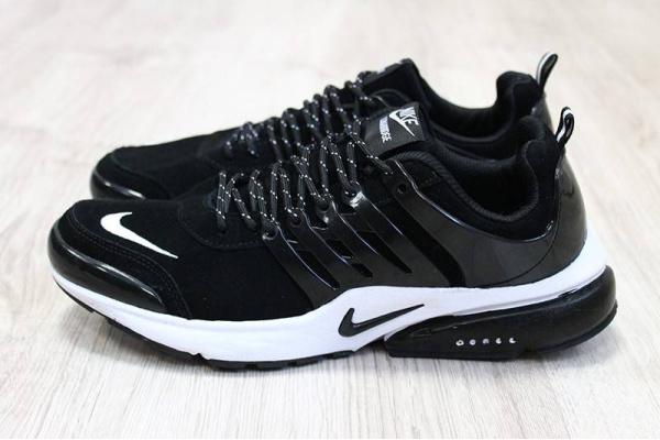 Мужские кроссовки Nike Presto Lunaridge белые с черным