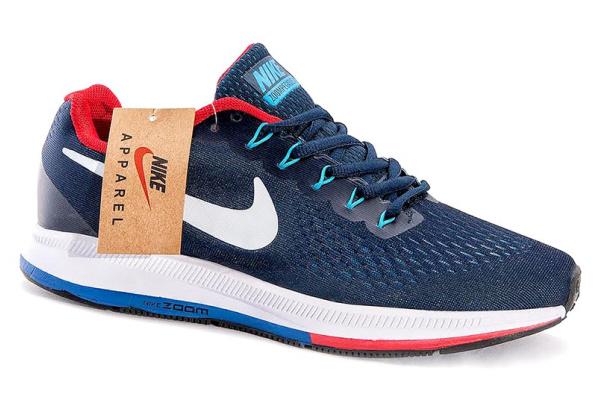 Мужские кроссовки Nike Zoom Pegasus 34 3D Mesh темно-синие