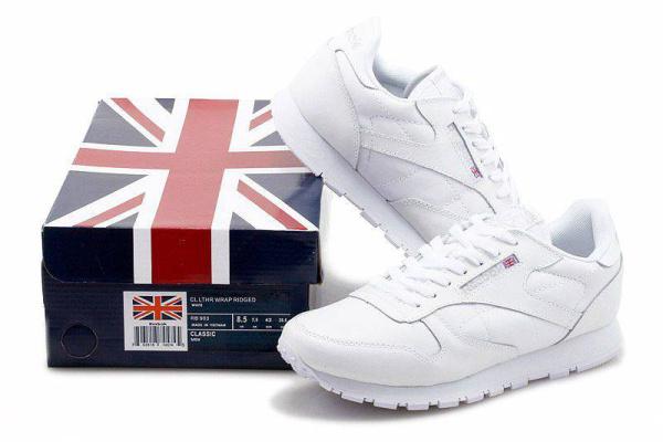 Мужские кроссовки Reebok Classic белые