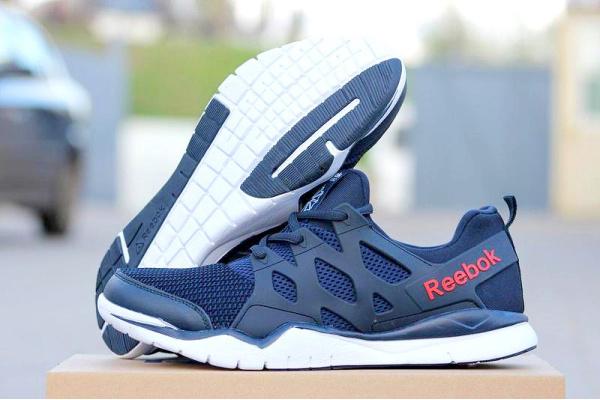 Мужские кроссовки Reebok Zcut TR 3.0 темно-синие с белым