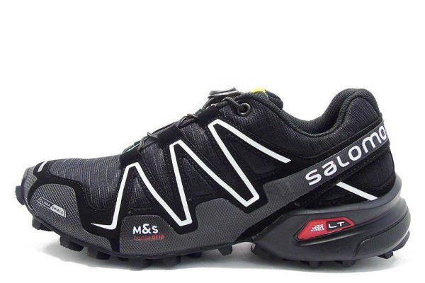 Мужские кроссовки Salomon SpeedCross 3 черные