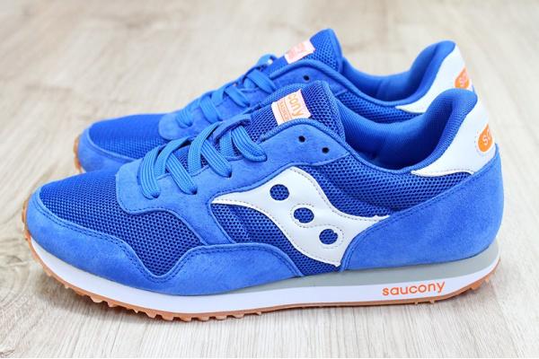 Мужские кроссовки Saucony DXN Trainer голубые