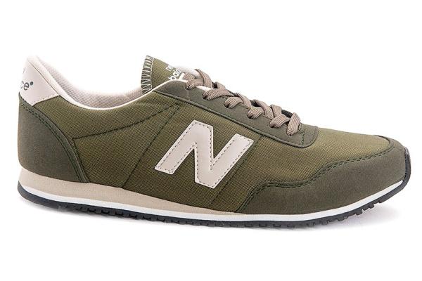 Женские кроссовки New Balance 395 оливковые