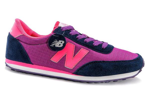 Женские кроссовки New Balance 410 розово-фиолетовые