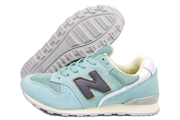 Женские кроссовки New Balance 996 бирюзовые