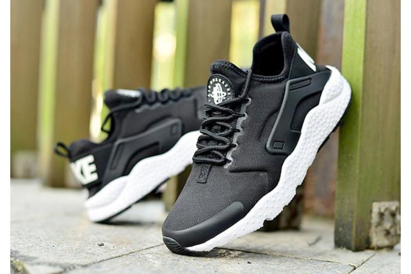6f9bdb7c Nike (Найк) кроссовки Air Huarache Ultra черные с белым купить | ASPOLO