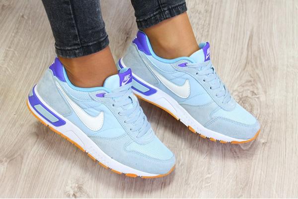 Женские кроссовки Nike Air Pegasus 83 голубые
