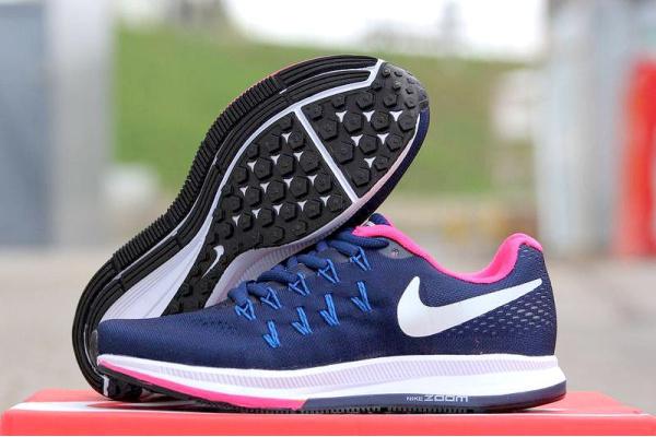 Женские кроссовки Nike Air Zoom Pegasus 34 темно-фиолетовые