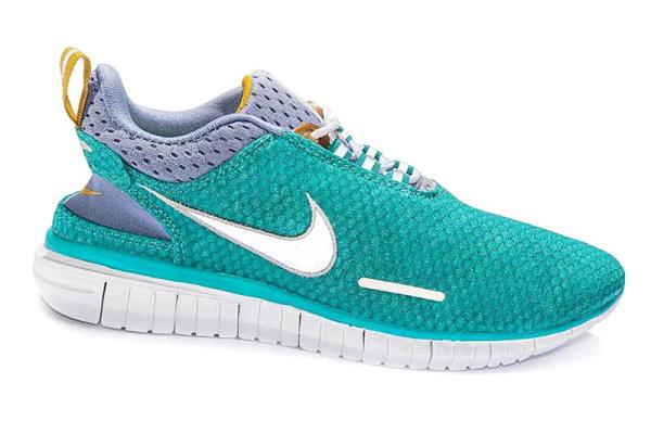 Женские кроссовки Nike Free Run 3.0 бирюзовые