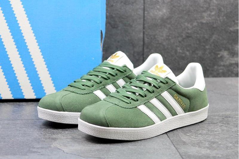 5bc55249 Adidas (Адидас) кроссовки Gazelle зеленые купить | ASPOLO