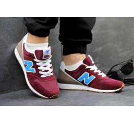 Купить Мужские кроссовки New Balance 996 бордовые
