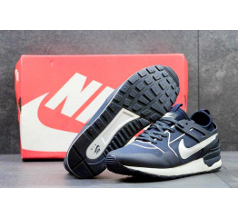 Купить Мужские кроссовки Nike Air Pegasus 89 Tech темно-синие с белым