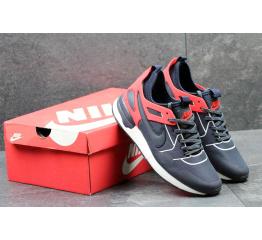 Купить Мужские кроссовки Nike Air Pegasus 89 Tech темно-синие с красным