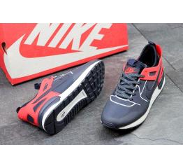 Купить Мужские кроссовки Nike Air Pegasus 89 Tech темно-синие с красным в Украине