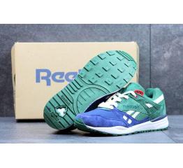 Купить Мужские кроссовки Reebok HEXALITE зеленые с синим