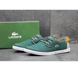 Купить Мужские туфли Lacoste зеленые