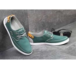 Купить Мужские туфли Lacoste зеленые в Украине