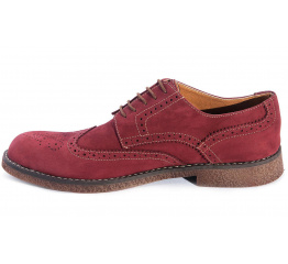 Мужские туфли Zara бордовые