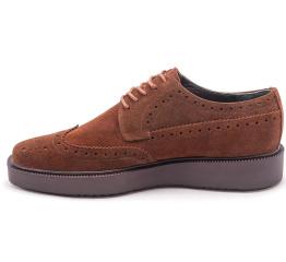 Мужские туфли Zara коричневые