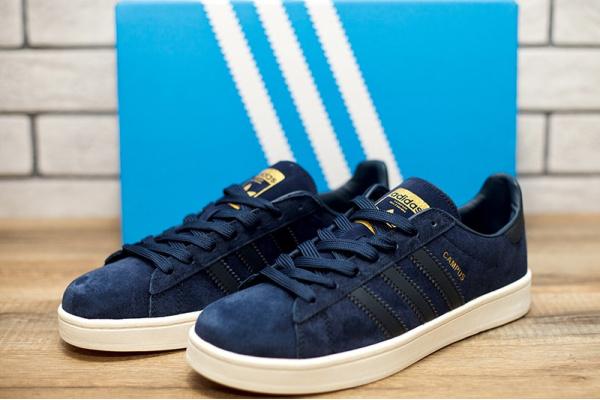 Мужские кроссовки Adidas Campus темно-синие