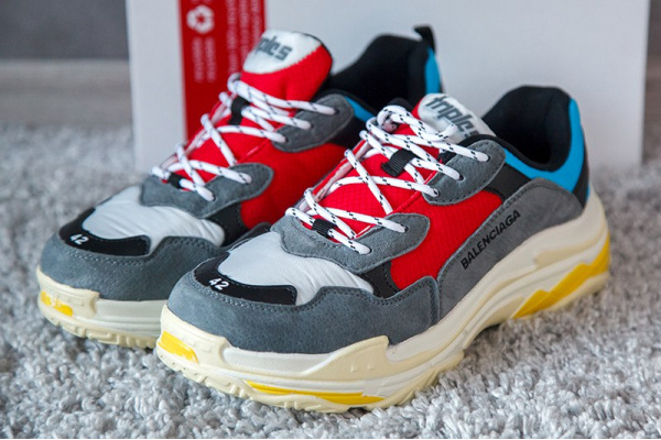 Мужские кроссовки Balenciaga Triple S Trainers многоцветные