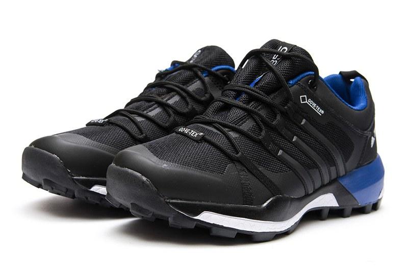 15fd534d Мужские кроссовки для активного отдыха Adidas Terrex Skychaser GTX черные с  голубым