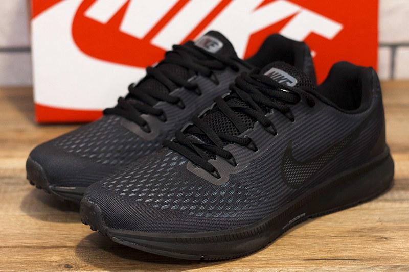 02ac8b4e Nike (Найк) кроссовки Air Zoom Pegasus 34 черные купить | ASPOLO
