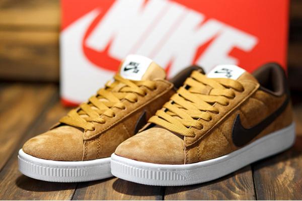 Мужские кроссовки Nike SB светло-коричневые
