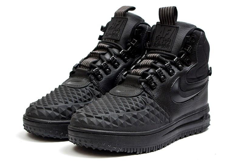 4ccf038f Nike (Найк) кроссовки Lunar Force 1 Duckboot '17 черные купить   ASPOLO