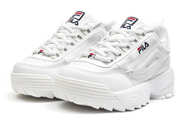 Женские кроссовки Fila Disruptor II белые