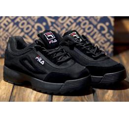 Купить Жіночі кросівки Fila Disruptor II чорні