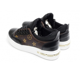 Купить Жіночі кросівки Ideal Black чорні в Украине