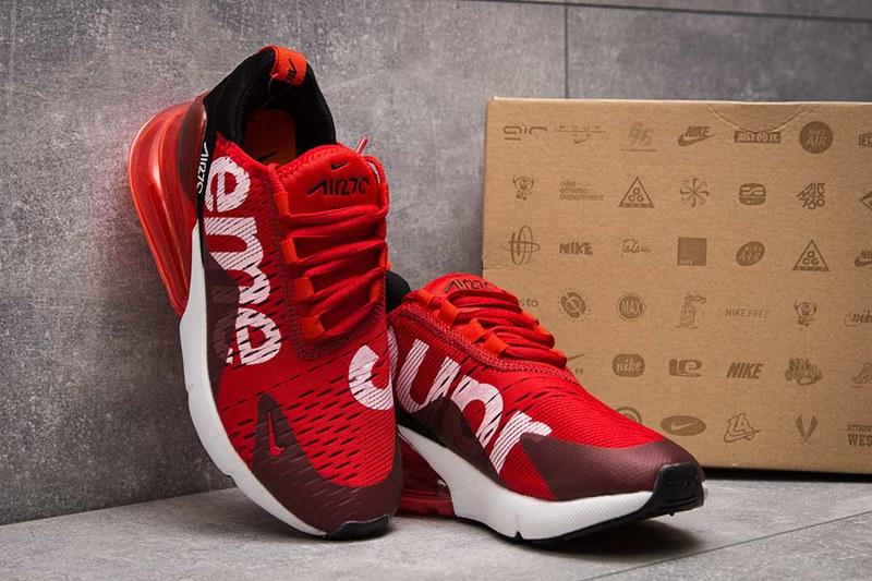 Купить женские кроссовки Nike Air Max 270 Supreme красные | ASPOLO