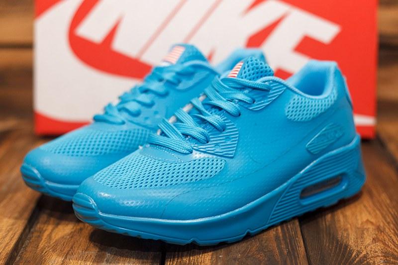 b525b72c Nike (Найк) кроссовки Air Max 90 HYP QS USA голубые купить   ASPOLO