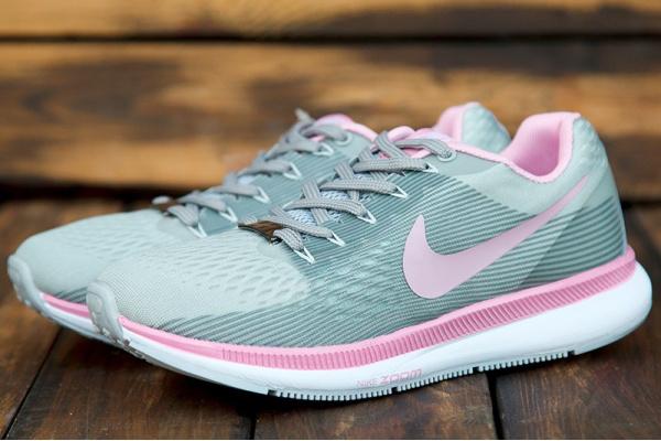 Женские кроссовки Nike Air Zoom Pegasus 34 бирюзовые с розовым