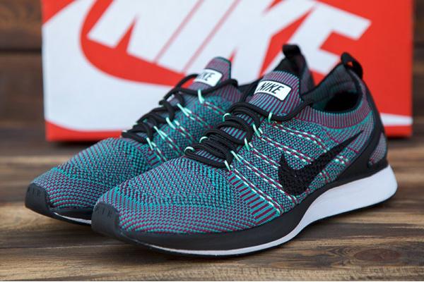 Женские кроссовки Nike Free Run бирюзовые с бордовым