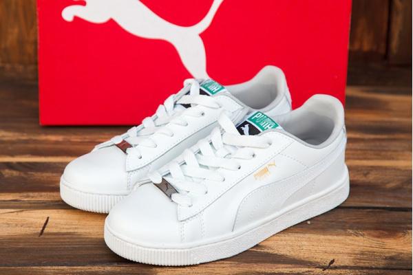Женские кроссовки Puma Suede белые