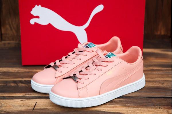 Женские кроссовки Puma Suede розовые