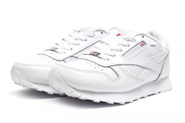 Женские кроссовки Reebok Classic Leather 30th белые