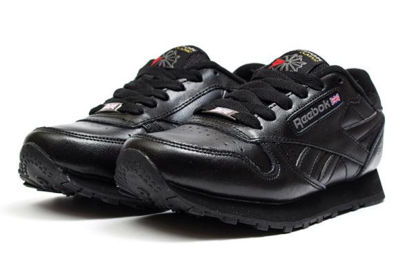 Женские кроссовки Reebok Classic Leather 30th черные