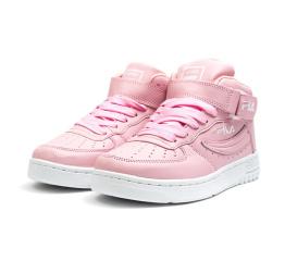 Купить Жіночі високі кросівки Fila FX-100 рожеві