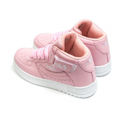 Купить Жіночі високі кросівки Fila FX-100 рожеві в Украине