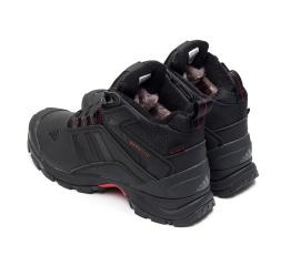 Мужские ботинки на меху Adidas Climaproof High черные