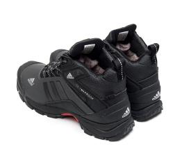 Мужские ботинки на меху Adidas Climaproof High темно-серые