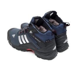 Мужские ботинки на меху Adidas Climaproof High темно-синие