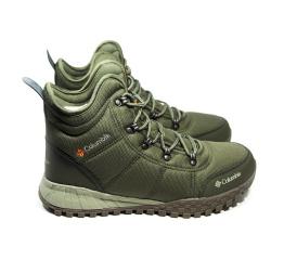 Мужские ботинки на меху Columbia Fairbanks хаки