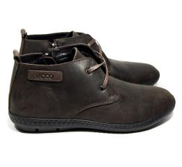 Мужские ботинки Ecco коричневые