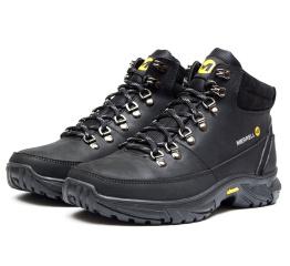 Мужские ботинки на меху Merrell черные