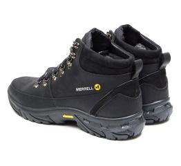 Купить Чоловічі черевики зимові Merrell чорні в Украине