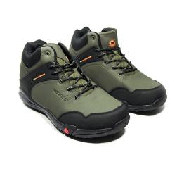 Мужские ботинки на меху Merrell хаки